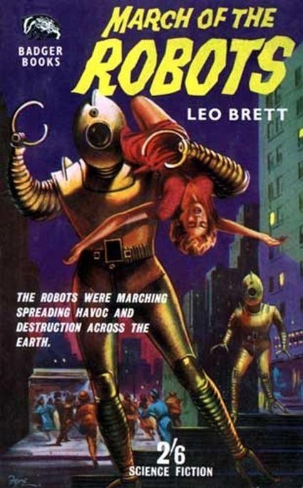 18 Vintage Sci Fi Posters: Robots, Aliens, Monsters and Hot Women - yovisuals - Zimbio | Vintage, Robots, Photos, Pub, Années 50 | Scoop.it