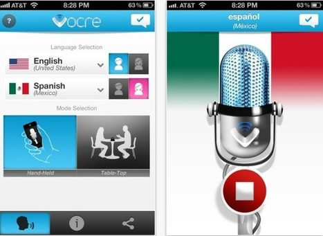 Vocre is a Free Voice Translation app that Breaks the Language Barrier | App News | App Chronicles | Technology and Education | Scoop.it