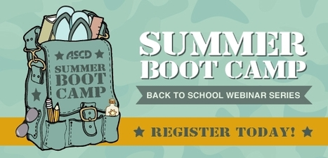 ASCD Webinars - Summer Bootcamp Webinar Series | ancient history | Scoop.it