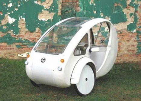 Mitad bicileta y mitad vehículo urbano solar Organic Transit | Infraestructura Sostenible | Scoop.it