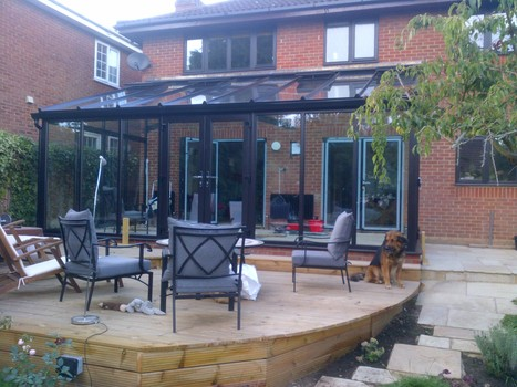 Country Window Systems Ltd Complete a Black/Brown coloured conservatory in Reading | CWS Group | Scoop.it