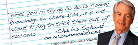 Accomodations - The Yale Center for Dyslexia & Creativity | Sport psychology | Scoop.it