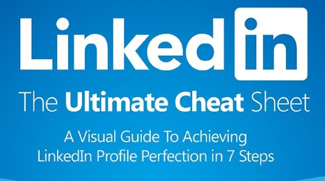 The ultimate LinkedIn cheat sheet | English for HR and working life | Scoop.it