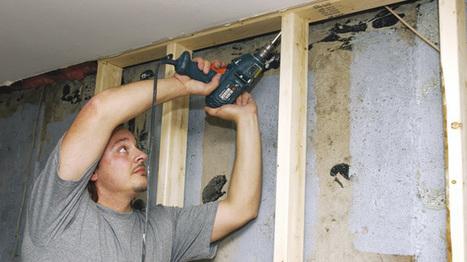 Isoler les murs du sous-sol | Rénovation-Bricolage | Do it yourself (www.bricolons.ch) | Scoop.it