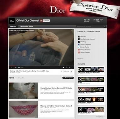 Stratégie de contenus de la marque de luxe DIOR | Web Analytics and Web Copy | Scoop.it