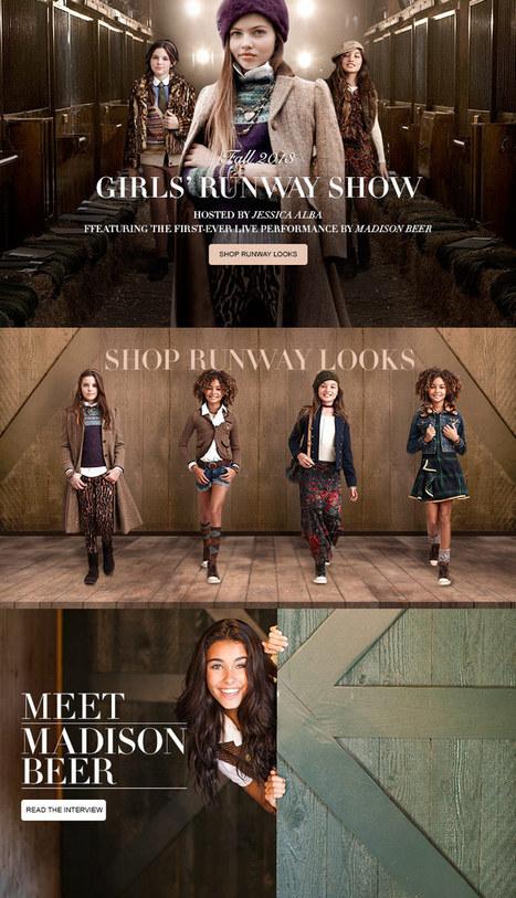 Explore Girls Fashion Show - RalphLauren.com | halloweenjackets | Scoop.it