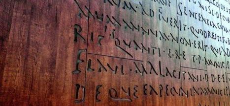 Málaga quiere recuperar las tablas originales de la Lex Flavia | Romanización en España e Galicia | Scoop.it