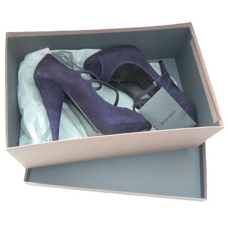 MIU MIU Prada Open Toe Mary Janes Suede Pumps | Consignment | Scoop.it