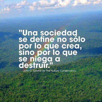 Twitter / Ecogranjero: #frasesquememarcaron Ecologia, ... | Espacio socioambiental | Scoop.it