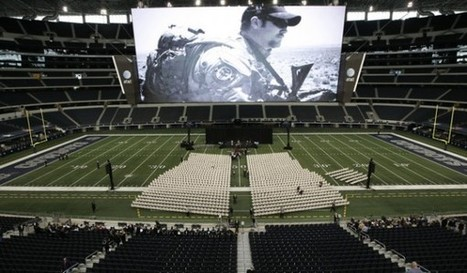 Watch Live Arlington, TX:Thousands Attending American Sniper's Memorial At Cowboys Stadium « Pat Dollard | Littlebytesnews Current Events | Scoop.it