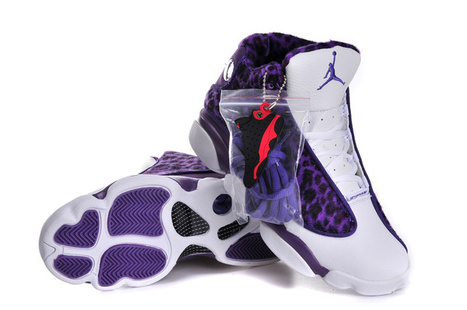 Wholesale Air Jordan 13 Womens Leopard Purple White | Nike Basketball Shoes New Release | Scoop.it
