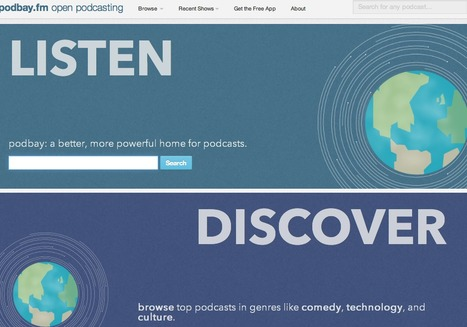 podbay: open podcasting | Creating Podcasts & Vodcasts for education | Scoop.it