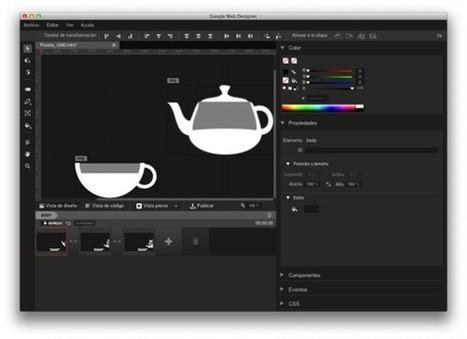 Herramientas para la creación de animaciones en HTML5 - FactorSim   Contenidos & Contenidos- Creación   Scoop.it
