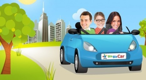 Blablacar, pépite française de l'économie collaborative, lève 100 millions de dollars | e-news | Scoop.it