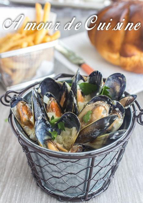 Moules marinieres sans vin - Amour de cuisine | Cuisine Algerienne, cuisine marocaine, cuisine tunisienne, cuisine indienne | Scoop.it