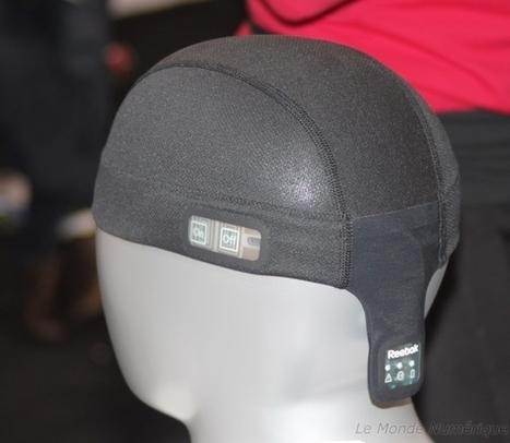 CES 2014 : Bonnet Reebok CheckLight pour protéger le cerveau pendant le sport Nouvelles technologies Objet connecté | Innovations sportives | Scoop.it