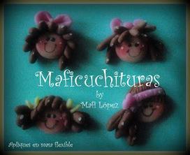 Maficuchituras: Mis Apliques en Masa flexible | Creaciones Deyatita Artesanias | Scoop.it