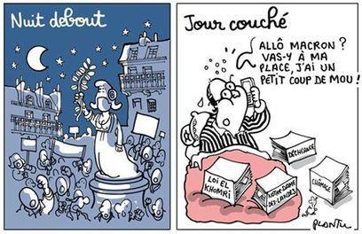 NUIT DEBOUT, JOUR COUCHÉ | Dessinateurs de presse | Scoop.it