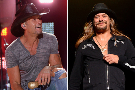 Tim McGraw Recalls His Wild Night With Kid Rock | Country Music Today | Scoop.it