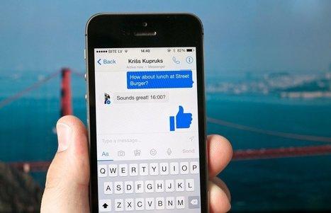 Messagerie : Les Français préfèrent Facebook Messenger | Smartphones et réseaux sociaux | Scoop.it