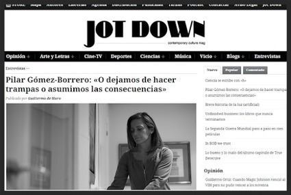 Pilar Gómez-Borrero habla de los orígenes del periodismo digital en Jot Down | New Journalism | Scoop.it