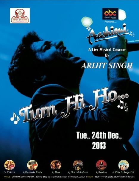 Arijit Singh era! Live Concert in Jaipur 2013   New Year Parties in Jaipur, Events, Deals, Celebration.   New Year parties in Jaipur 2013 - 2014   Scoop.it