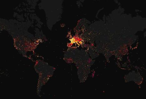 Mapping Wikipedia | Map@Print | Scoop.it