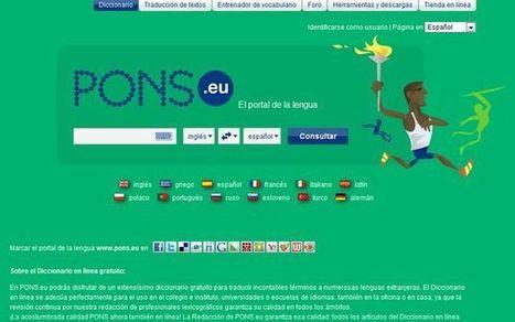 PONS, un excelente diccionario en línea para múltiples idiomas | Pedalogica: educación y TIC | Scoop.it