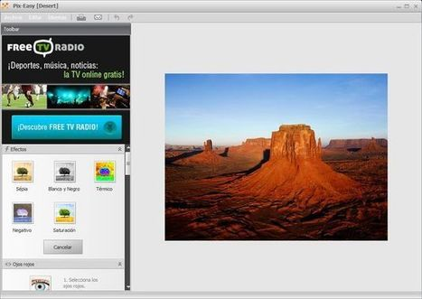 PixEasy, aplicación Windows gratuita para editar fácilmente tus fotos | Curiosidades de la Red | Scoop.it