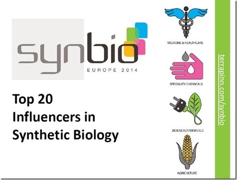 The top 20 most influential people in synthetic biology | SynBioFromLeukipposInstitute | Scoop.it
