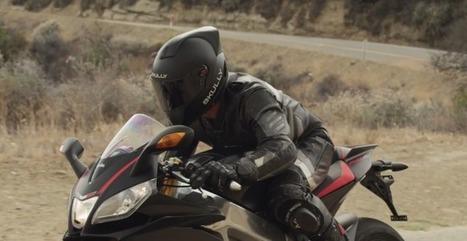 Smart Motorcycle Helmet Sharpens Your Senses On The Road | Net | Scoop.it