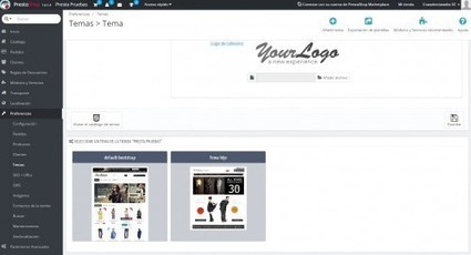 Instalar un tema en Prestashop y crear un tema hijo   Red Community  Manager.   Scoop.it