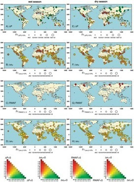 Maps - climate change impacts, from PLOS ONE and NOAA | plant cell genetics | Scoop.it