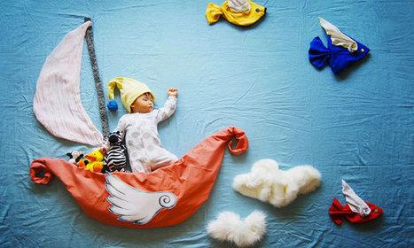 Une maman transforme les siestes de son adorable bébé en des aventures féeriques   Puériculture   Scoop.it
