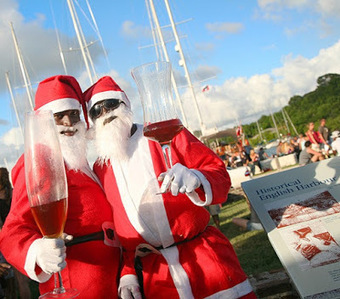 Nelson's Dockyard Christmas Day Champagne Party | Caribbean Island Travel | Scoop.it