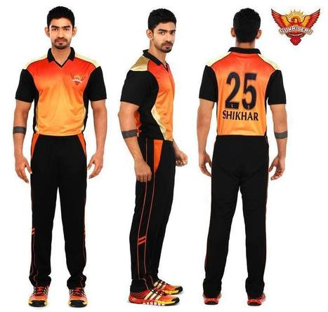 SunRisers Hyderabad Launched New Jersey | Googly Mania | Scoop.it