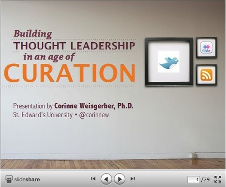 Teaching Students to Become Curators of Ideas: The Curation Project | compaTIC | Scoop.it