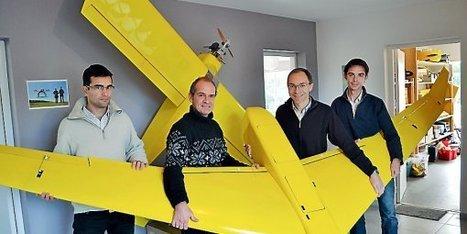 Les drones de L'Avion jaune prennent la Terre en photos | Robotique de service | Scoop.it