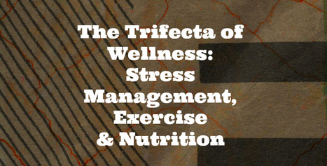 Trifecta of Wellness: Stress Management, Exercise and Nutrition | Mental Health | Scoop.it
