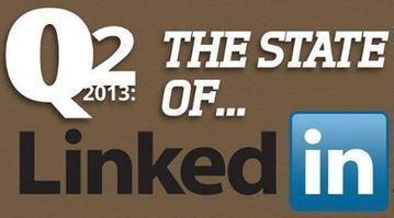 Où en est Linkedin ? Toutes les stats à connaître à mi-2013 | L'E-Réputation | Scoop.it