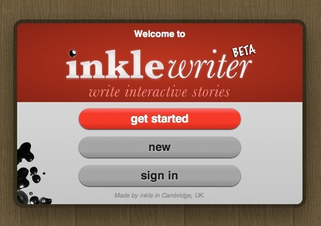 inklewriter - Write Interactive Stories | Français Langue Etrangère et Technologies | Scoop.it