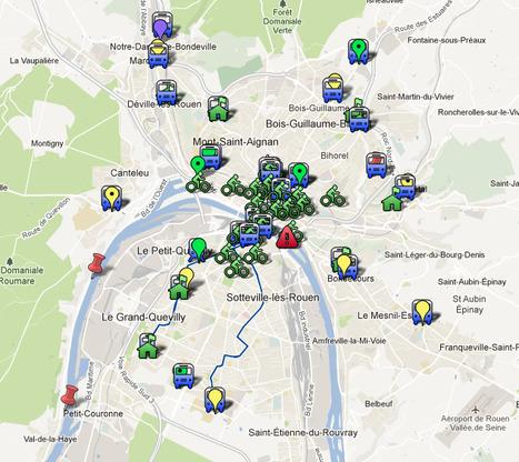 [pratique] #soluCREA en carte dynamique | Actualités de Rouen et de sa région | Scoop.it
