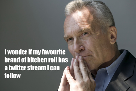 I wonder if my favourite brand of kitchen roll has a twitter stream I can follow? | funny-marketing-ads | Scoop.it