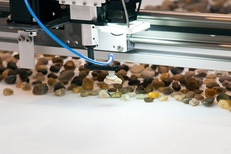 robotic rock installation sorts stones based on their geological age | laurent | Scoop.it