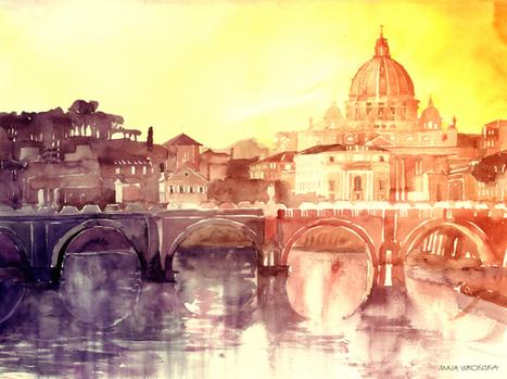 New in the Shop: Dreamy Watercolor Paintings | Le It e Amo ✪ | Scoop.it