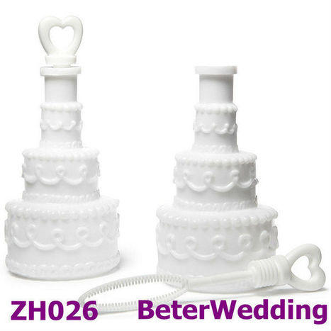 Aliexpress.com : Buy novelty Wedding Cake Bubbles 48pcs as Wedding gift and wedding favor and party favor ZH026 from Reliable Wedding Cake Bubbles suppliers on Your Unique Wedding Favors | Soap Gift Set, Wedding Bubbles | Scoop.it