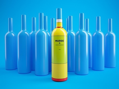Clever Wine Bottles Inspired by Mondrian and The Simpsons | Wine General | Scoop.it