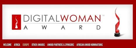 Digital Woman Award: ecco chi sono le donne digitali europee | BH Donna2 (al quadrato) | Scoop.it