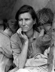"""The Story Behind Dorothea Lange's Iconic """"Migrant Mother"""" Photograph and How She Almost Didn't Take It ~ Brain Pickings 