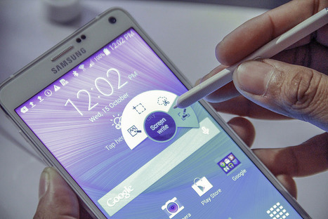 Samsung Galaxy Note Edge VS Galaxy Note 4 | Tecnologías en las Aulas | Scoop.it